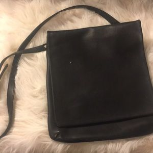 Vintage Real Leather COACH satchel